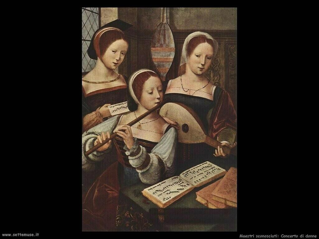 maestri sconosciuti Concerto di donne