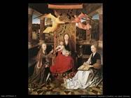 maestri sconosciuti Madonna con bambino e santa Caterina