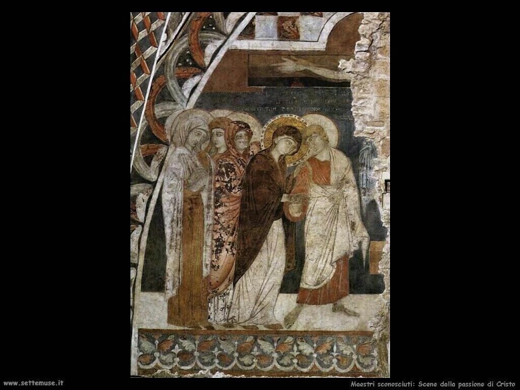 maestri sconosciuti Scene dalla passione di Cristo