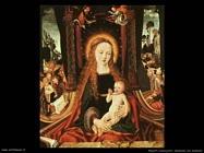 maestri sconosciuti Madonna con bambino
