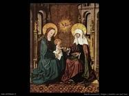 maestri sconosciuti Vergine con bambino e sant'Anna