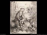 non_identificati_Sacra Famiglia con mazzo di rose