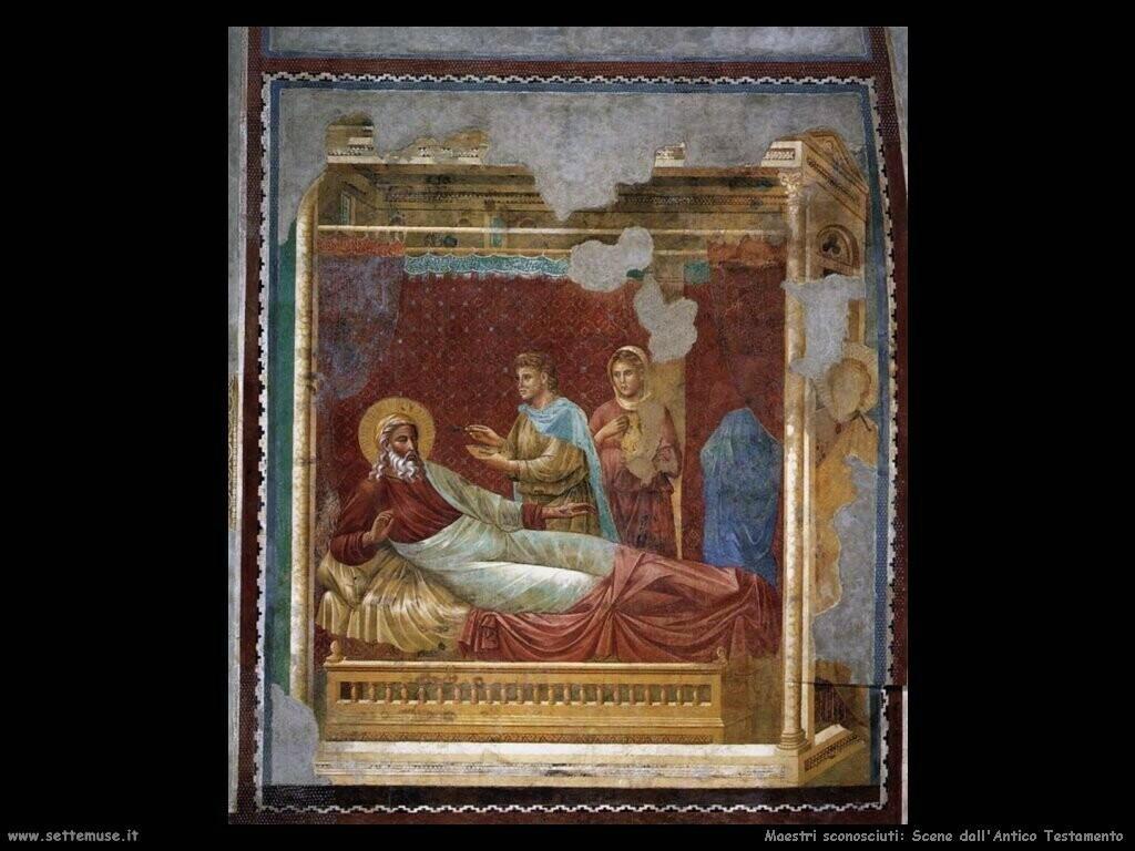 maestri sconosciuti Scene dall'Antico Testamento