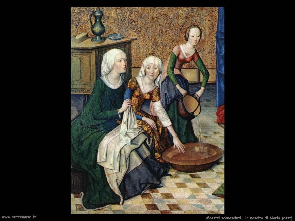 maestri sconosciuti La nascita di Maria (dett)