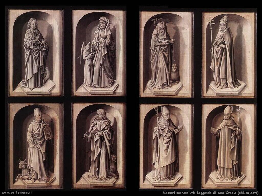 maestri sconosciuti La leggenda di sant'Ursula (chiuso)