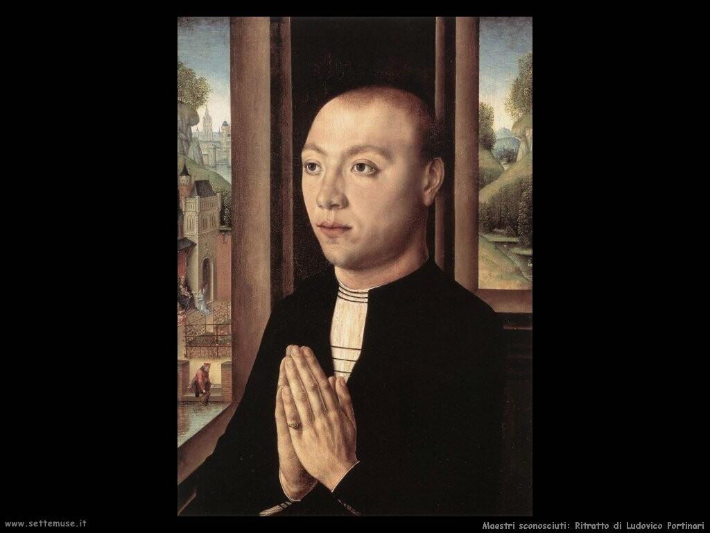maestri sconosciuti Ritratto di Ludovico Portinari