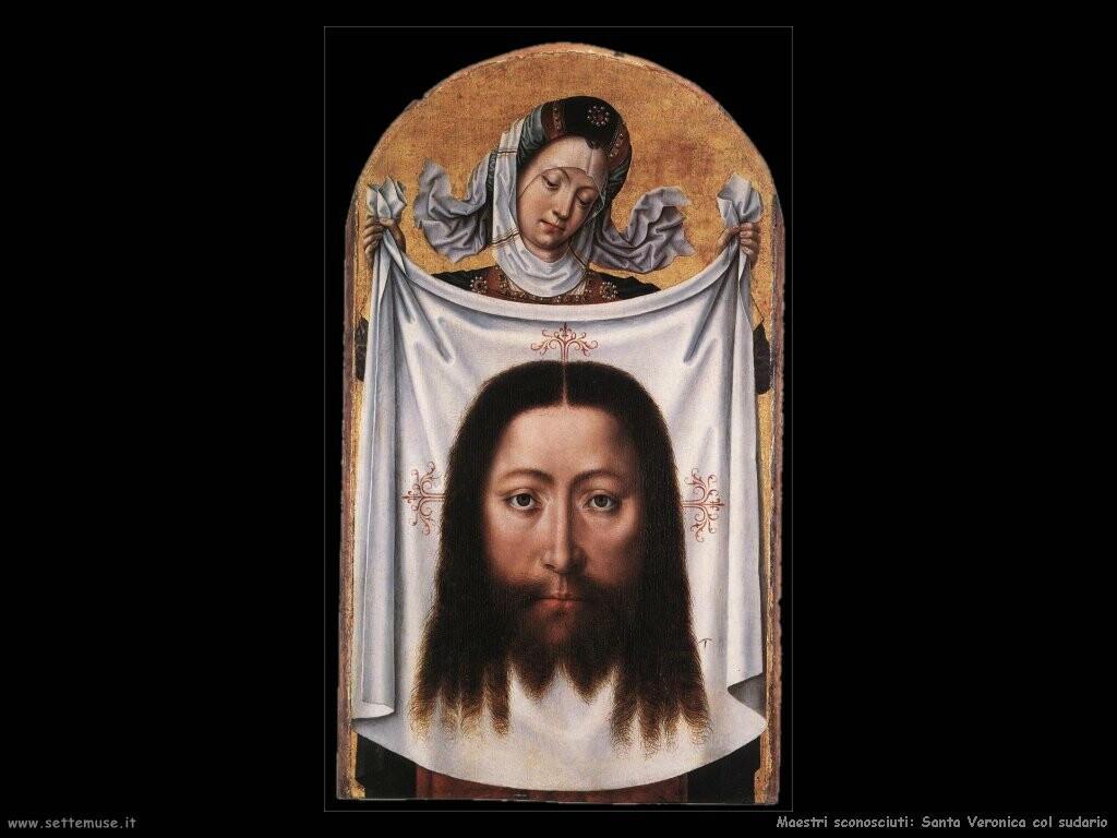 maestri sconosciuti Santa Veronica col sudarium