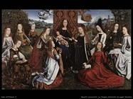 non_identificati Vergine attorniata da sante