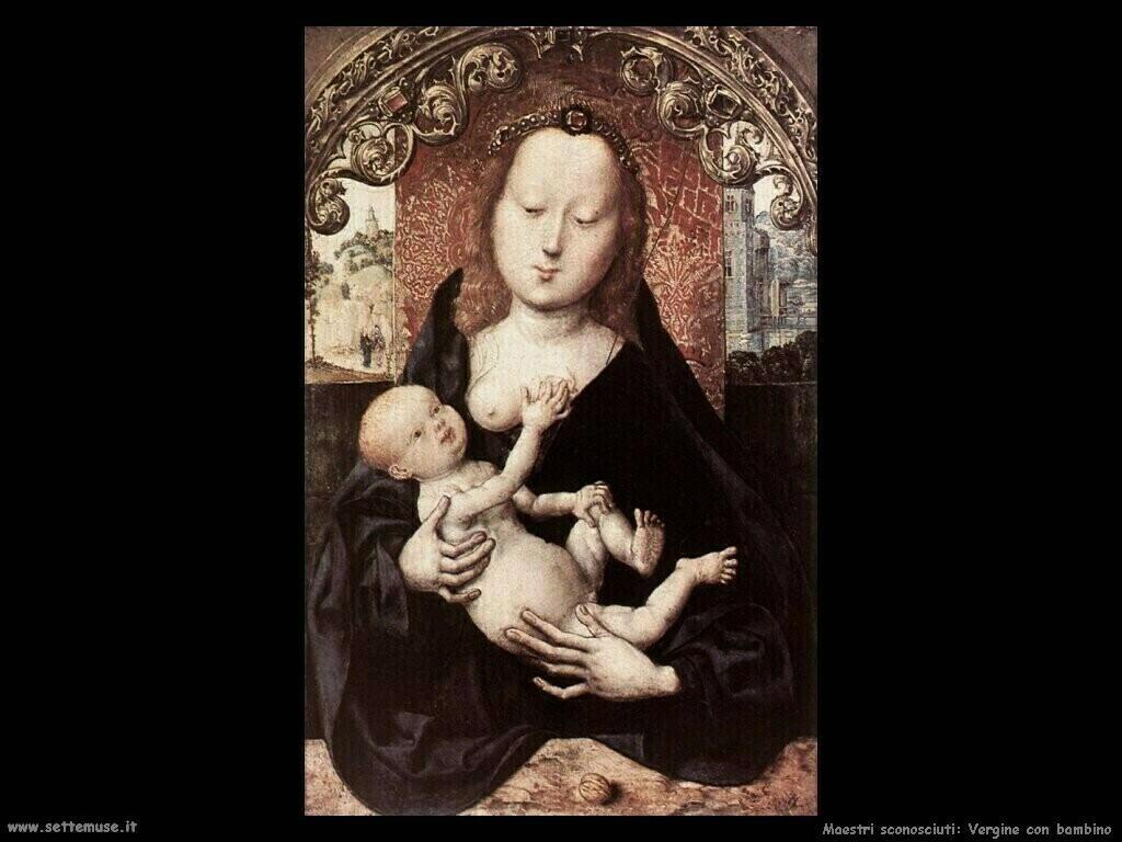 non_identificati_Vergine con bambino