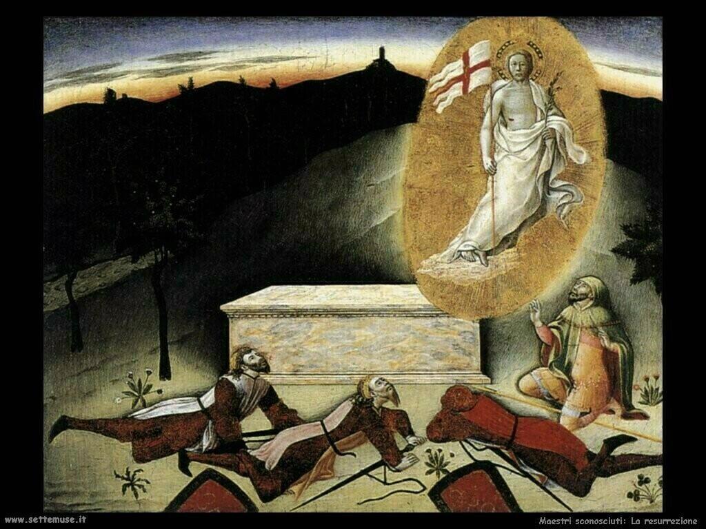 maestri sconosciuti Resurrezione