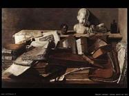 olandesi_Natura morta con libri