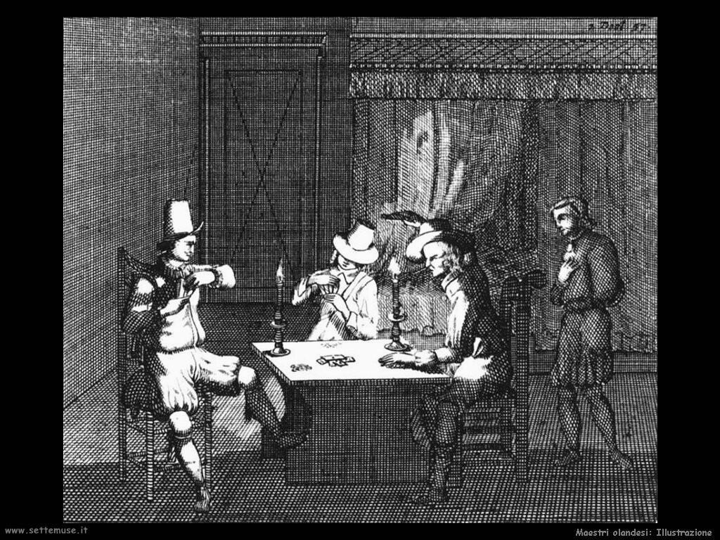 maestri sconosciuti olandesi Illustrazione