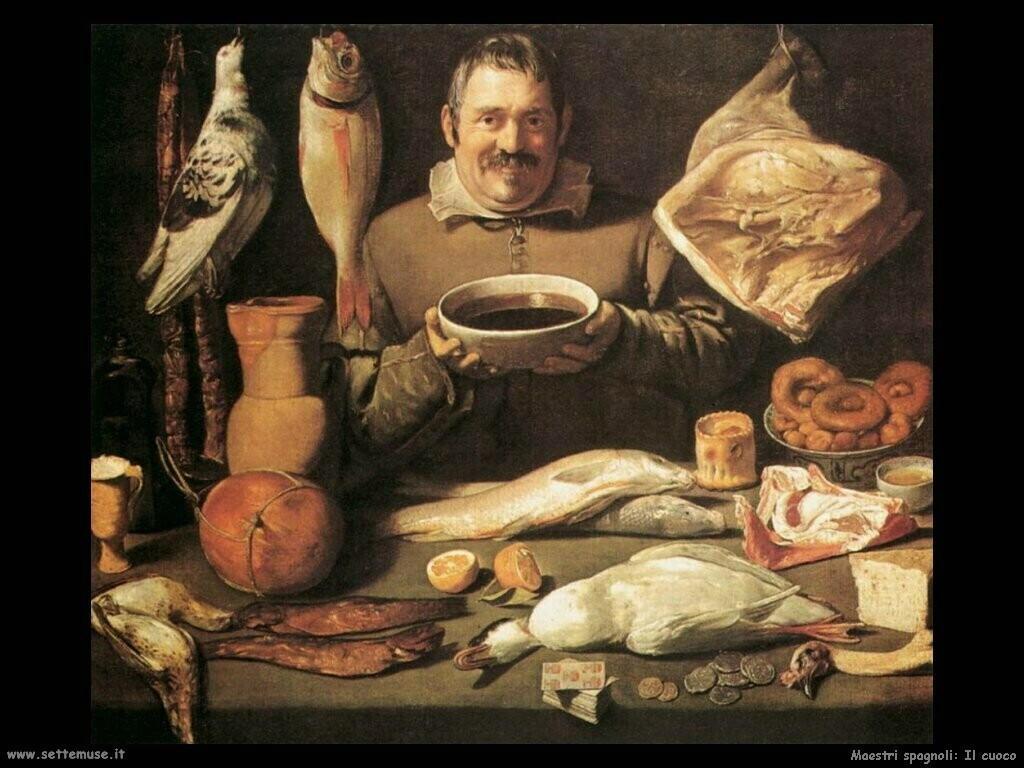 maestri sconosciuti spagnoli Il cuoco