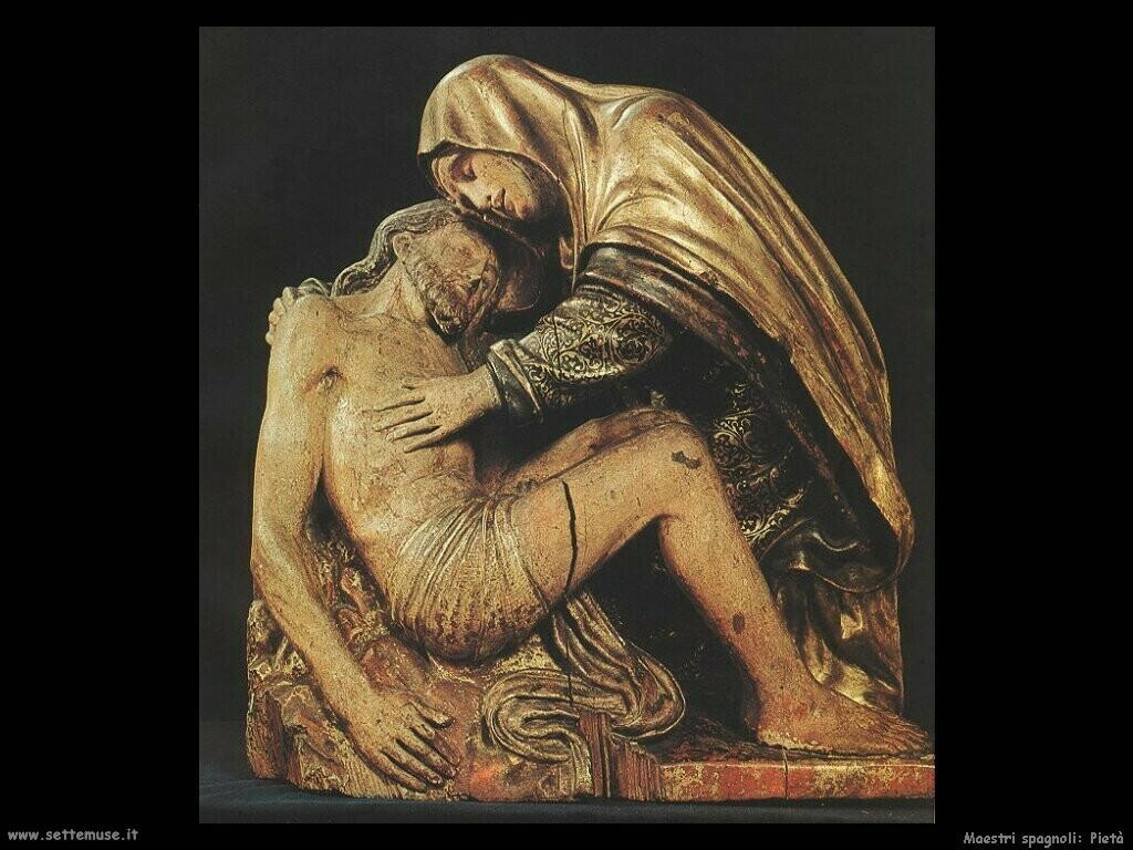 maestri sconosciuti spagnoli Pietà
