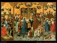 maestri sconosciuti tedeschi_Pala d'altare delle 7 gioie di Maria
