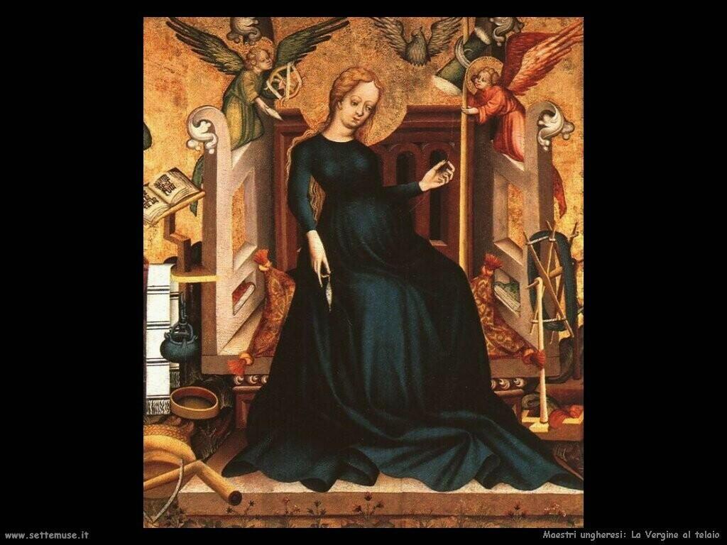 maestri sconosciuti ungheresiLa Vergine all'arcolaio