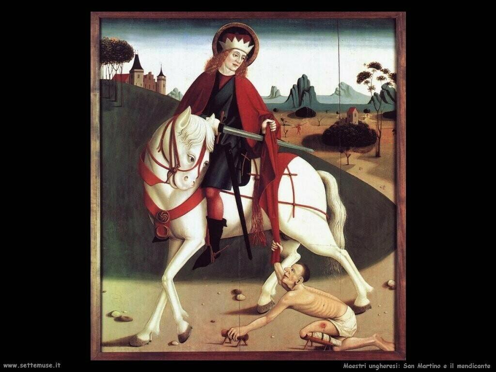 ungheresi San Martino e il mendicante