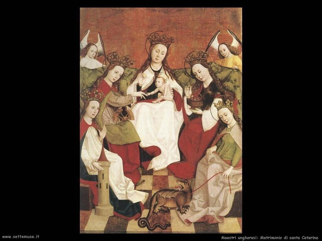 ungheresi Matrimonio di santa Caterina