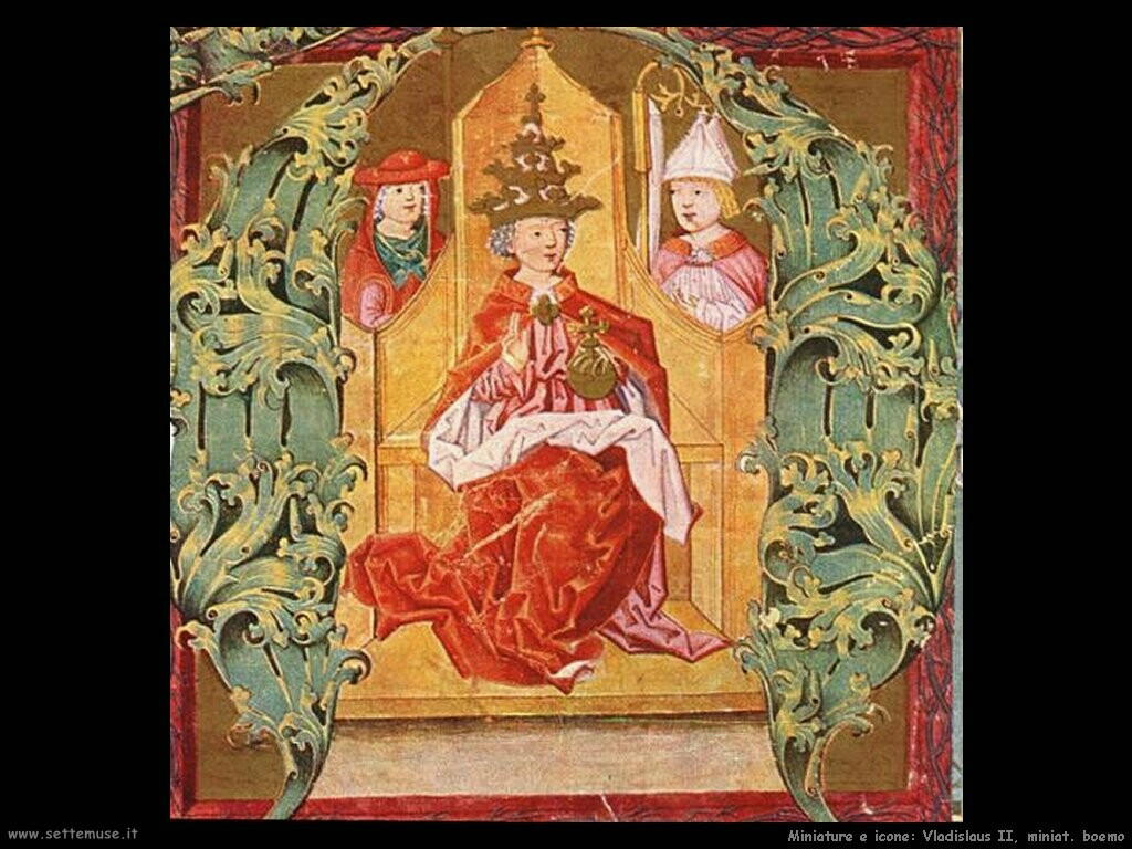miniature boeme   Gradual of Vladislaus