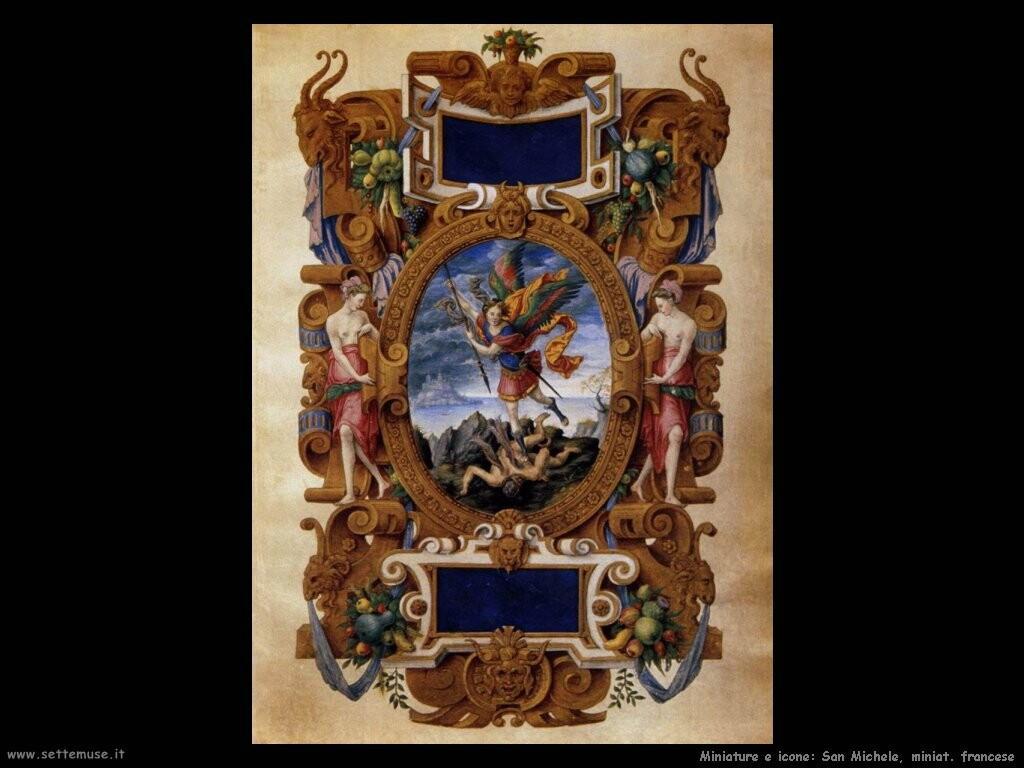 miniature francesi  San Michele