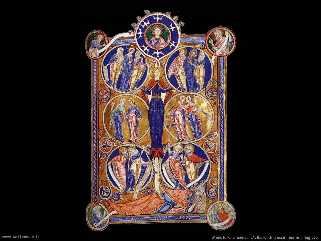 miniature inglesi  Albero di Jessen