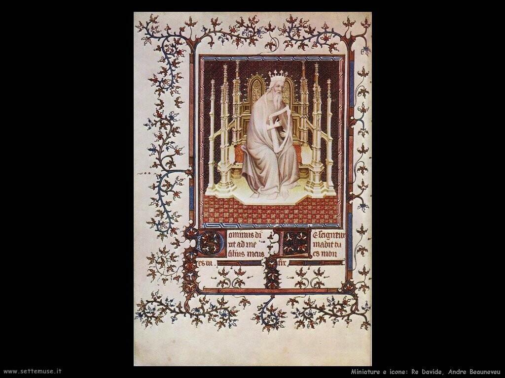King David, Andrè Beauneveu