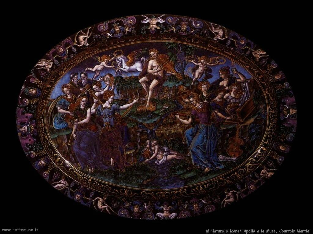 Apollo e le Muse, Courtois Martial