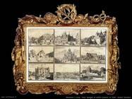 Nove immagini di edifici pubblici di Delft, Decker Coenraet