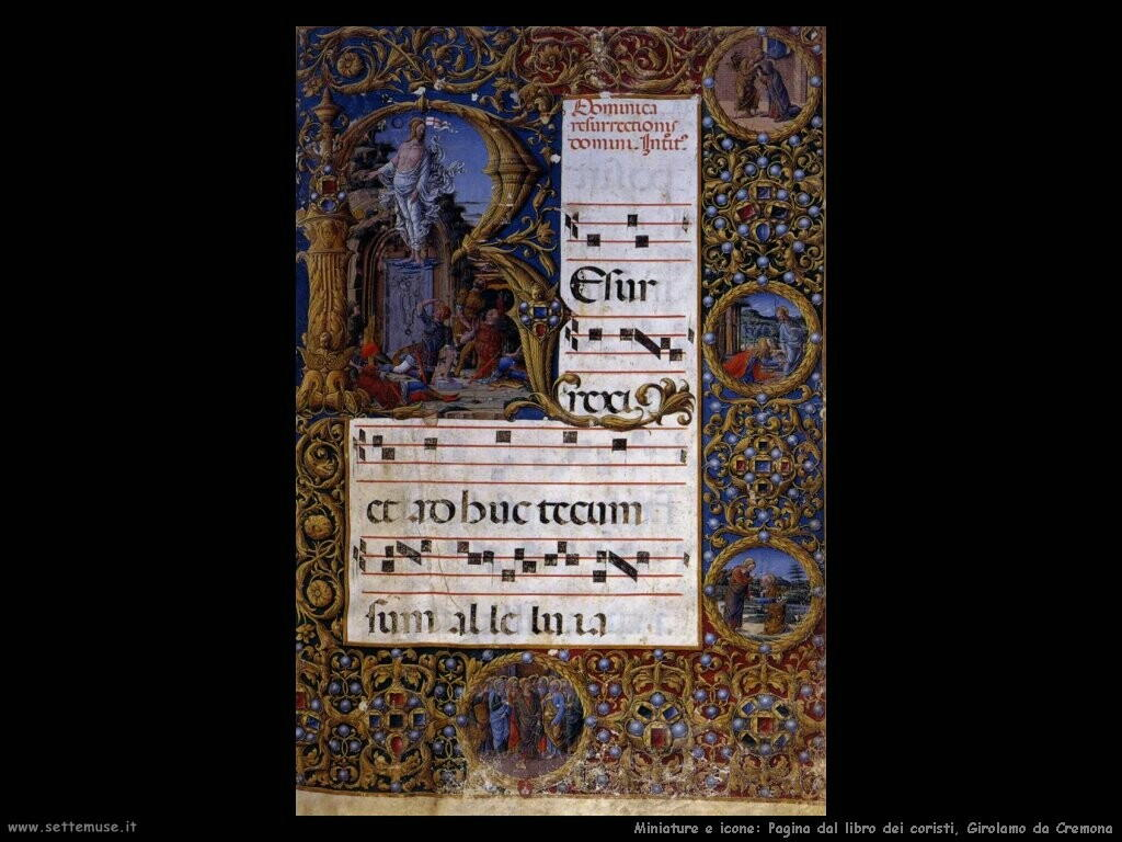 Libro del coro, Girolamo da Cremona