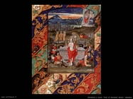 miniature olandesi  Folio di breviario