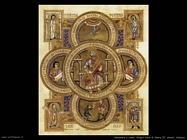 miniature tedesche Libro di gospel di Enrico II