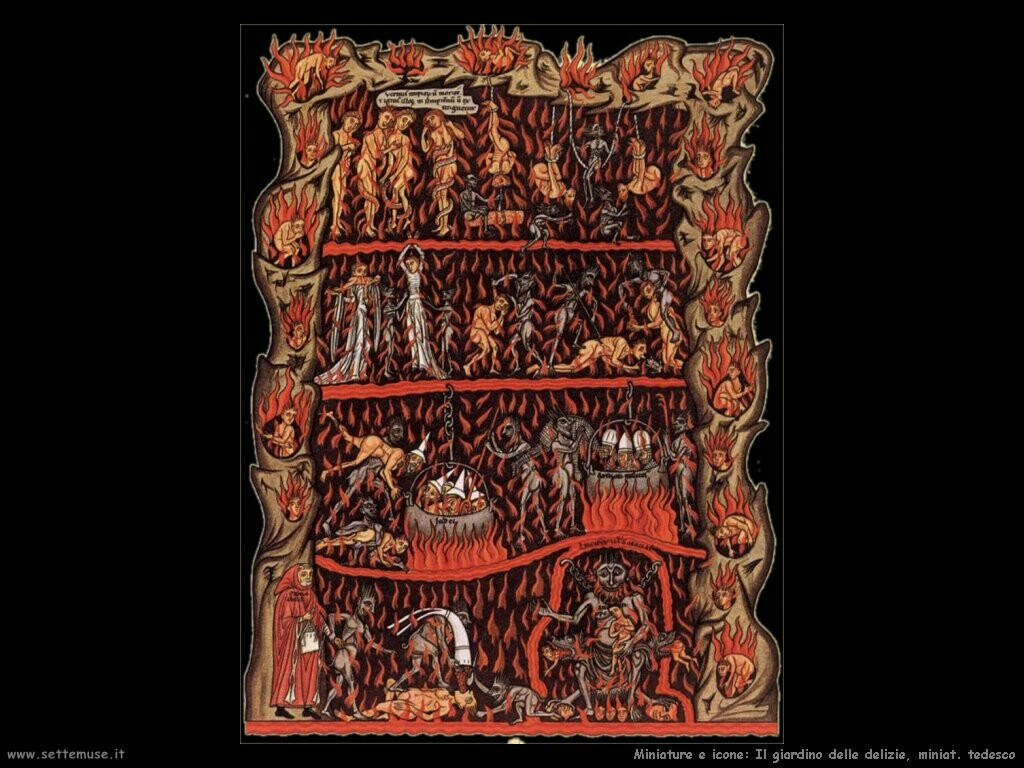 miniature tedesche  Il giardino delle delizie