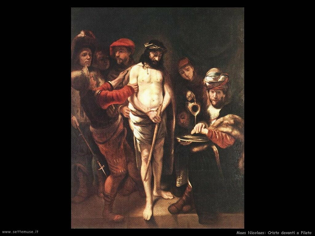 maes nicolaes Cristo davanti a Pilato