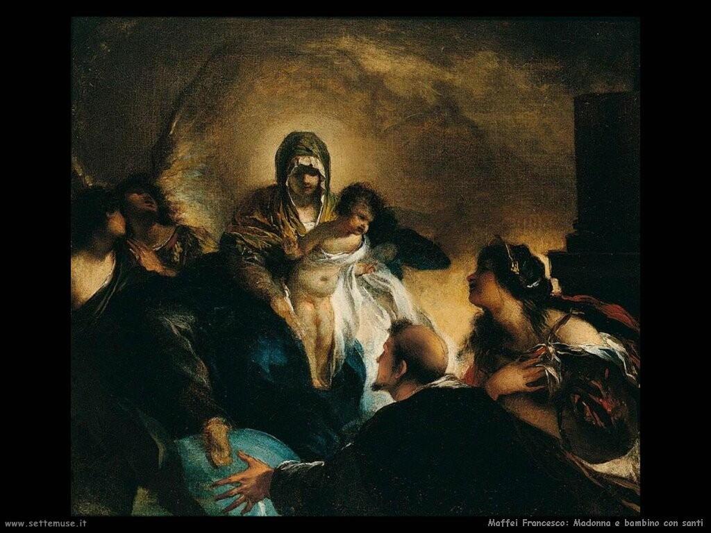 maffei francesco Madonna con bambino e santi