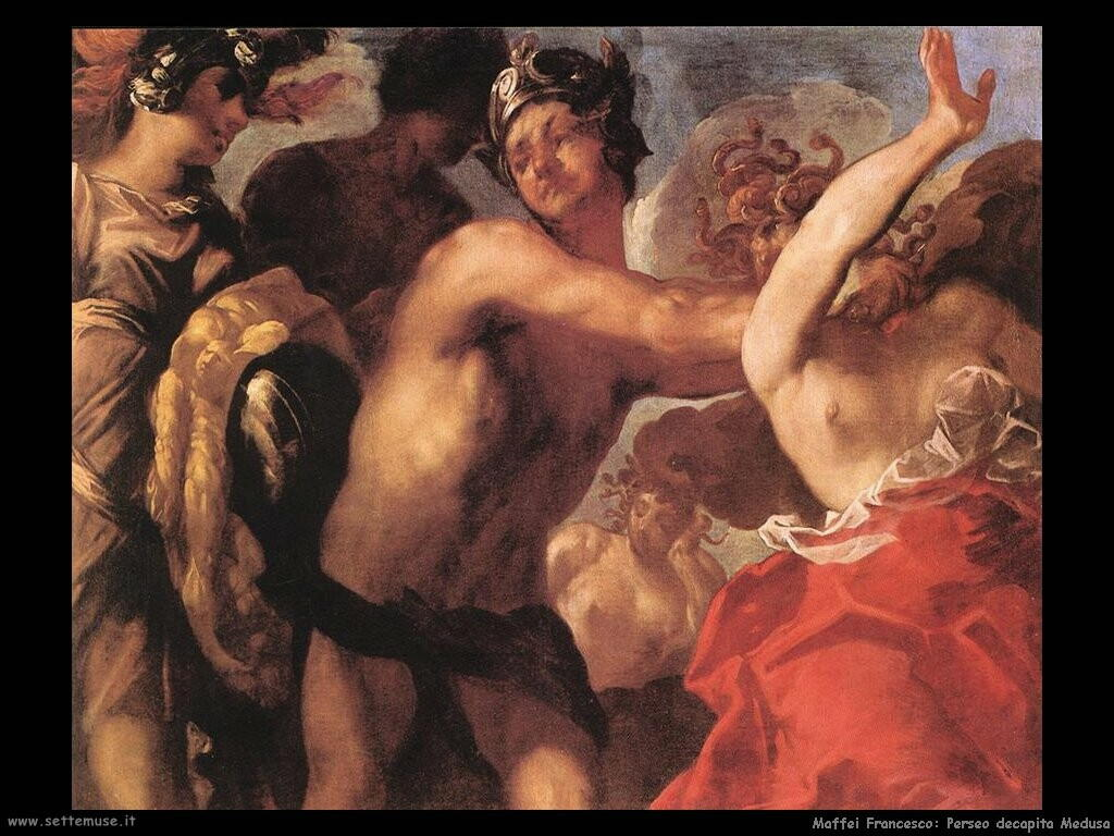 maffei francesco Perseo decapita Medusa