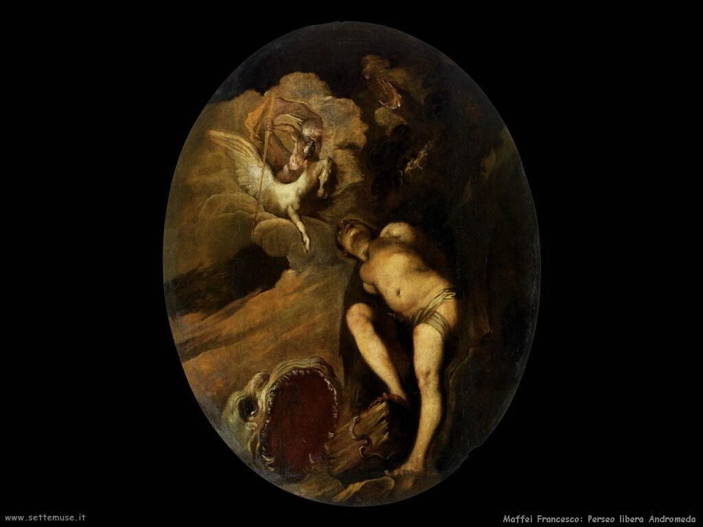 maffei francesco Perseo libera Andromeda