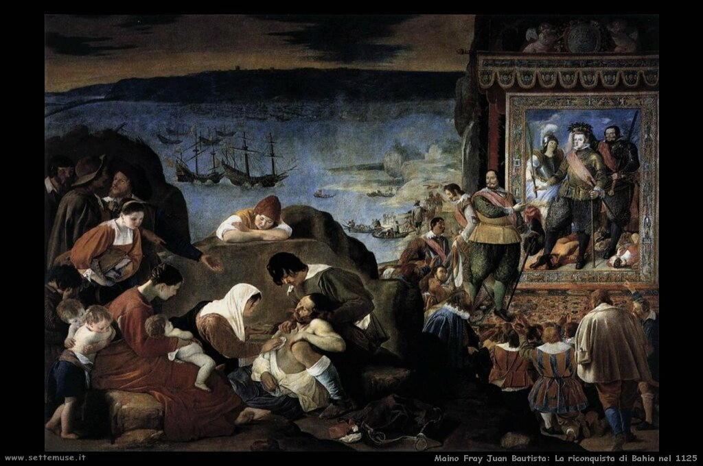 maino fray juan bautista La riconquista di Bahia nel 1125