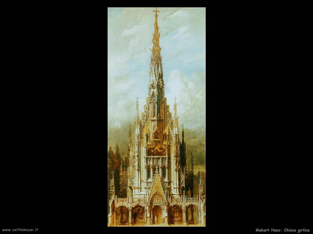 makart hans chiesa gotica