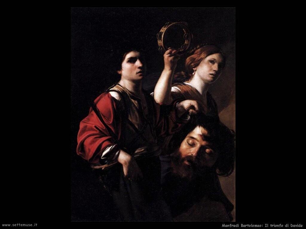 manfredi bartolomeo  Il trionfo di David