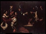 manfredi bartolomeo  Il diniego di san Pietro
