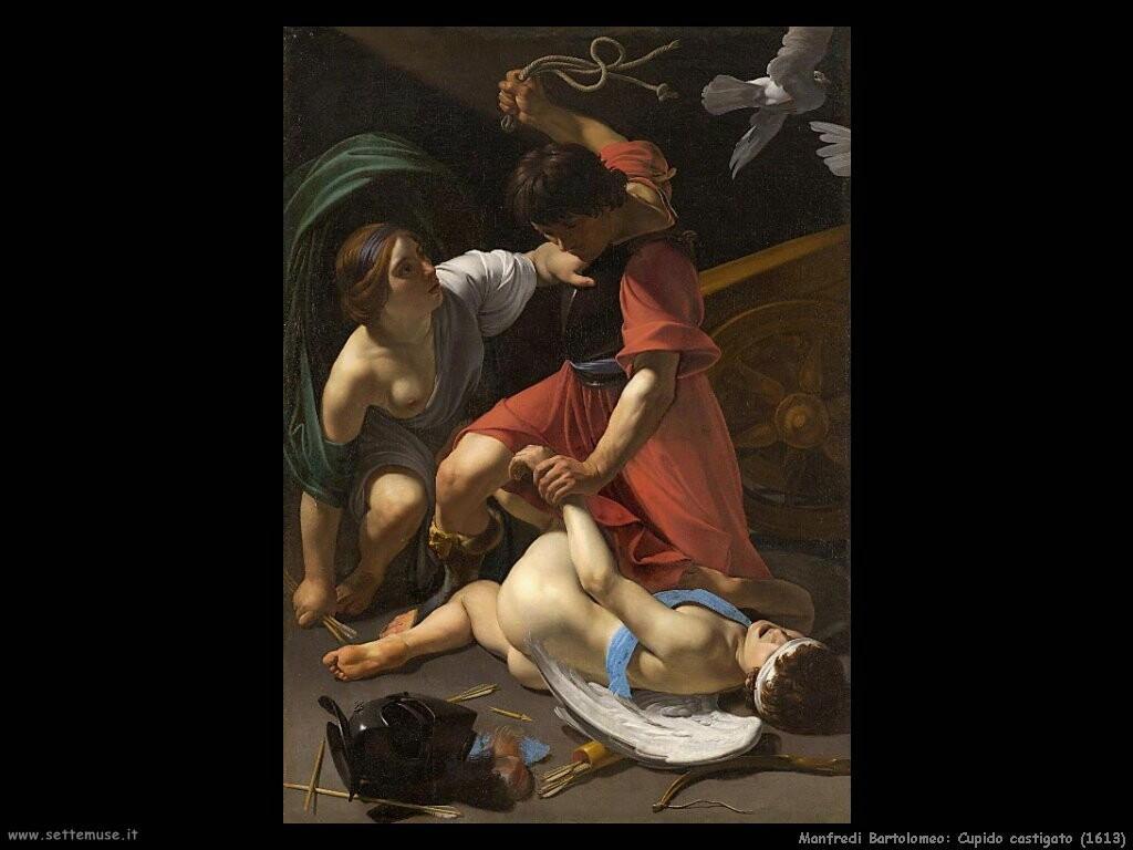 manfredi bartolomeo Cupido castigato
