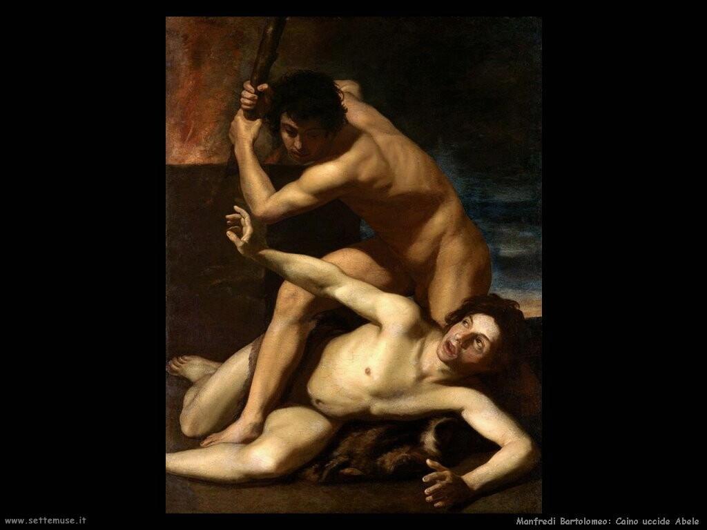 manfredi bartolomeo  Caino uccide Abele
