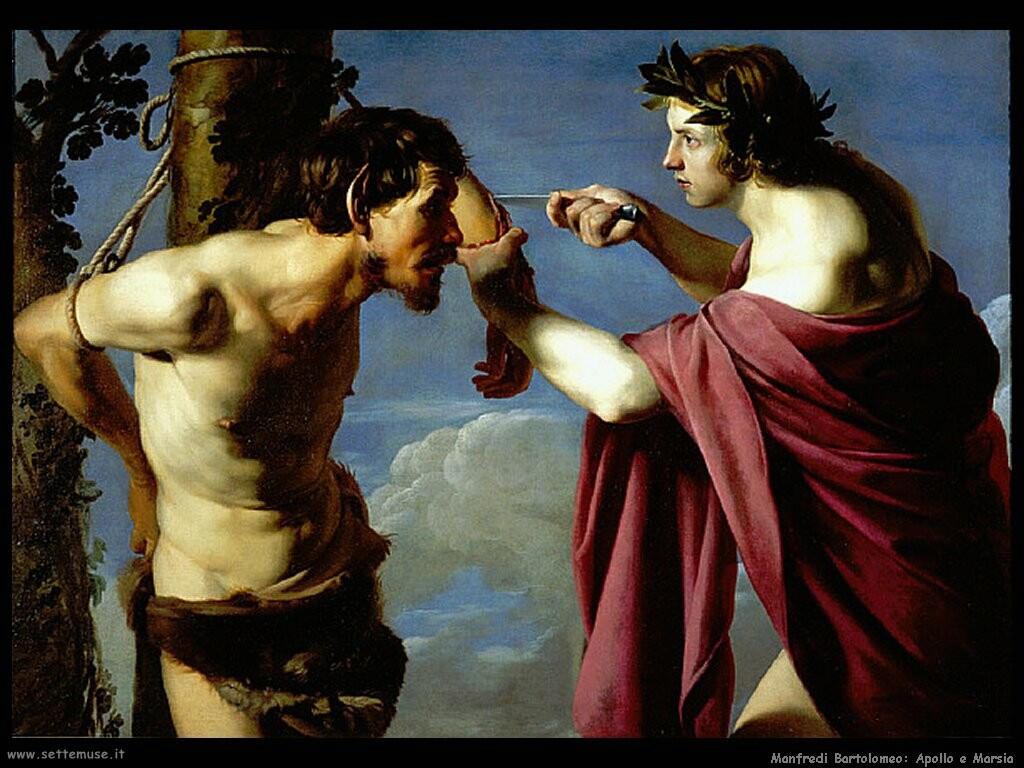 manfredi bartolomeo Apollo e Marsia