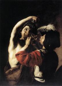 Pittura di Bartolomeo Manfredi