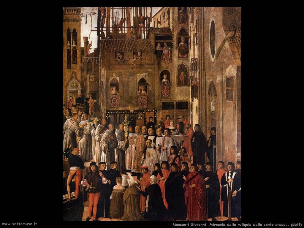 mansueti giovanni Il miracolo della reliquia della santa croce