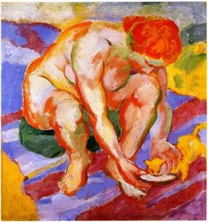 Dipinto di Marc Franz - 1910
