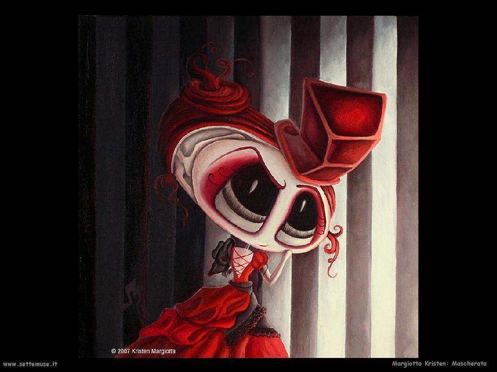 Margiotta Kristen Mascherata rossa