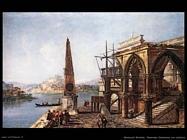 marieschi michele Vista immaginaria con obelisco