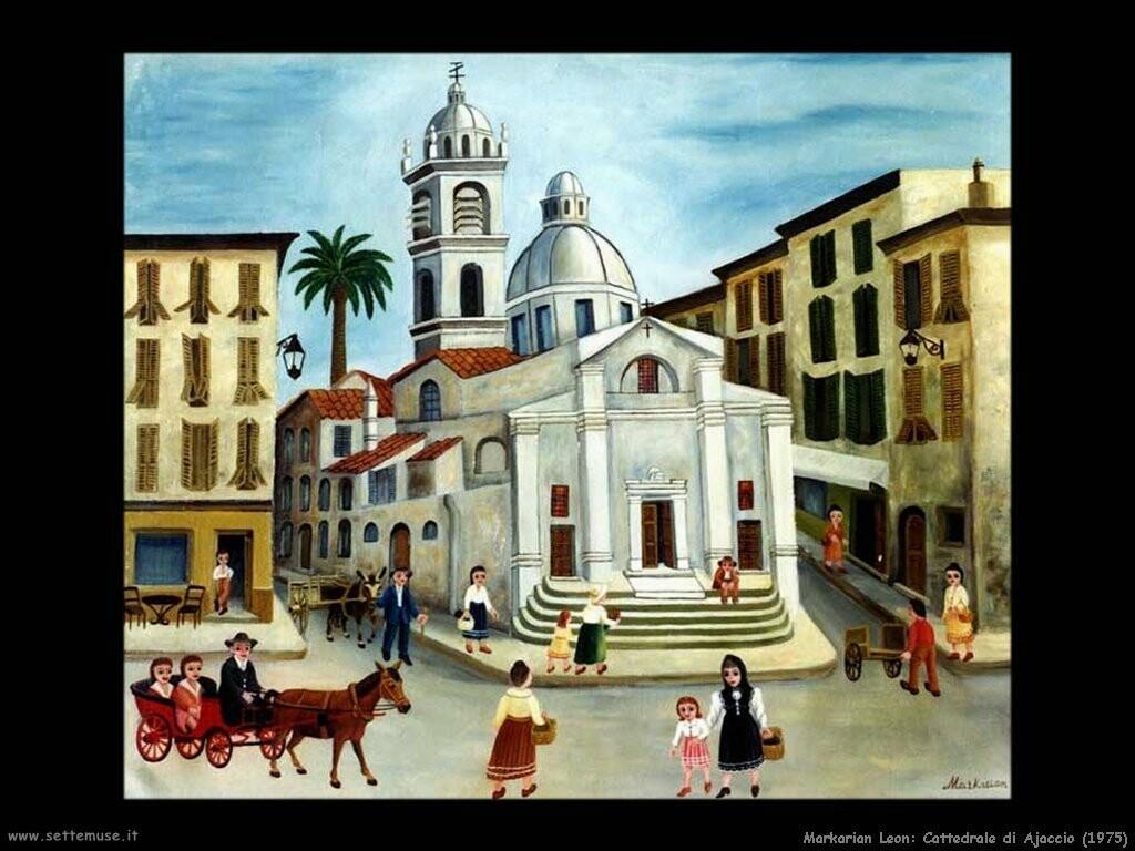 markarian leon Cattedrale di Ajaccio (1975)
