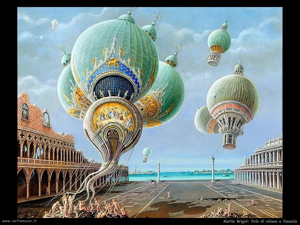 brigid marlin Chiese volanti a Venezia